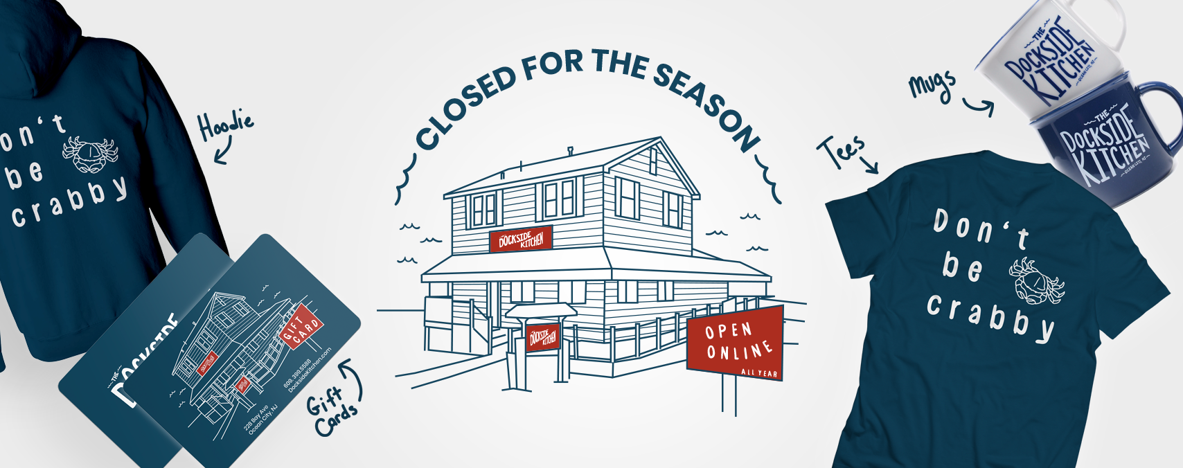 Dockside Kitchen Closed for 2018 Season Image